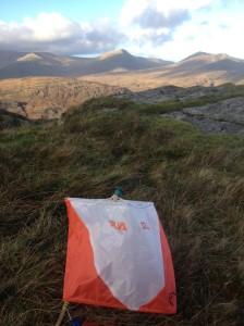 Marker flag on IML Speed Nav test