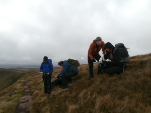 Mountain Experience provide navigation training in the Brecon Beacons