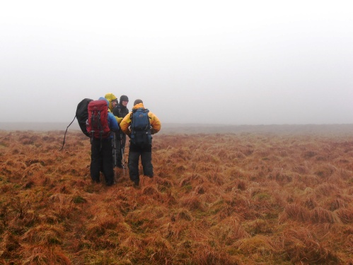 Expedition Training in wet North Wales