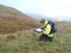 Heather undertaking her NNAS Silver assessment with Mountain Experience