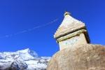 Stupa near Phurte