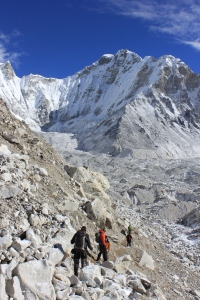 Following the trail to Everest Base Camp