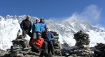 Our team on the south west summit