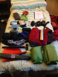 just some of the kit carried by a winter IML