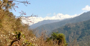 Looking north to Tibet